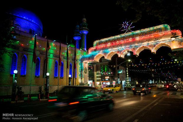 İran'da Hz. Mehdi'nin (a.c.f) veladet yıldönümü kutlamaları