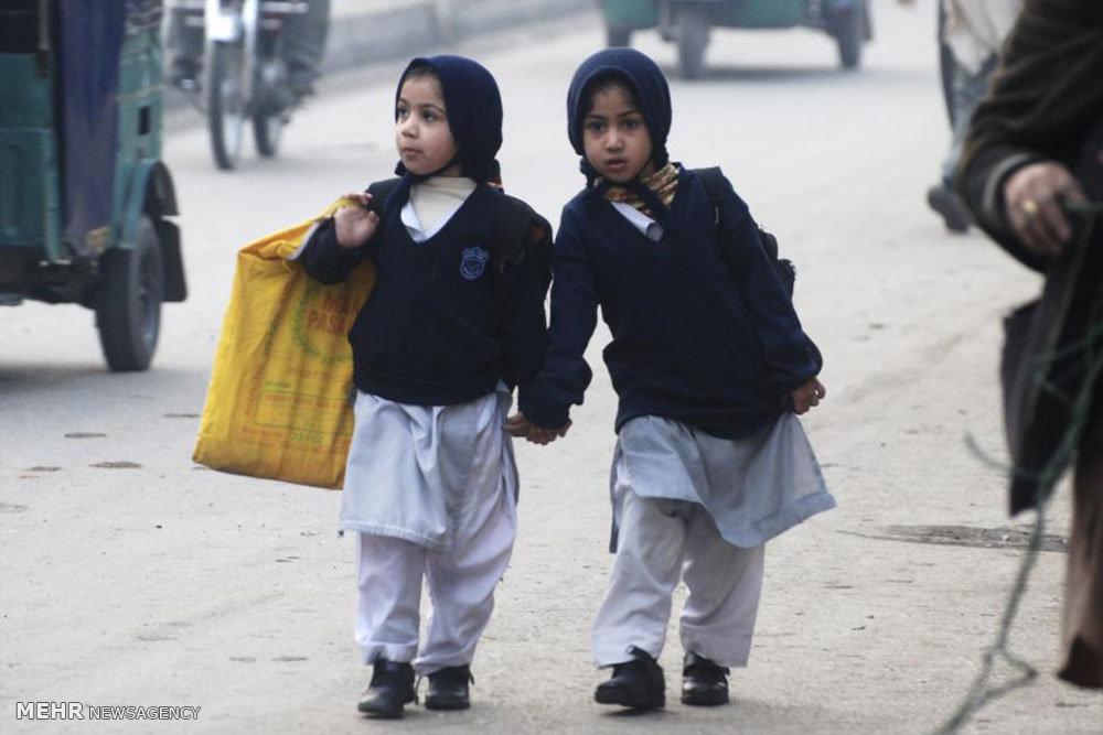 در راه مدرسه