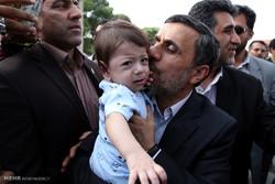 احمدی نژاد کا ہمدان کا دورہ