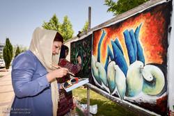 ۲۶ طرح از بین ۱۷۸ اثر ارسالی برای نقاشی دیواری شهر خوی انتخاب شد