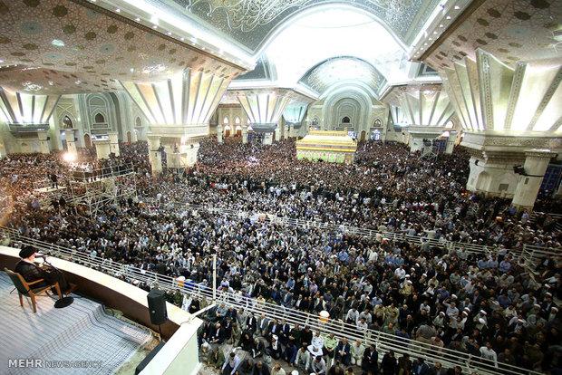 مراسم بیست و ششمین سالگرد ارتحال بنیان گذار جمهوری اسلامی حضرت امام خمینی (ره)