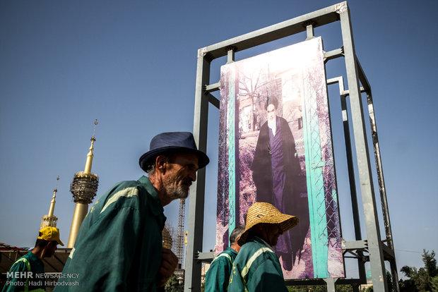 مراسم بیست و ششمین سالگرد ارتحال بنیانگذار جمهوری اسلامی -2