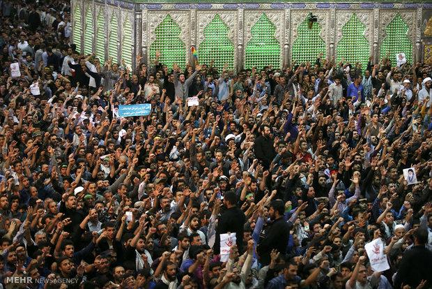 مراسم بیست و ششمین سالگرد ارتحال بنیانگذار جمهوری اسلامی