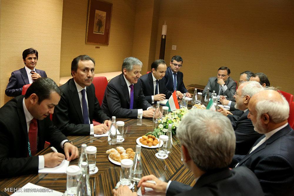 محادثات ظريف في موسكو