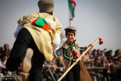 مهرجان الالعاب الشعبية والتقليدية في مدينة كجساران الايرانية