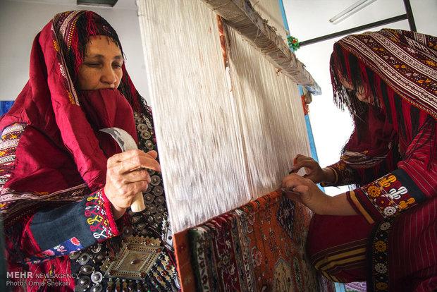 صنایع دستی روستای دویدوخ در منطقه جرگلان