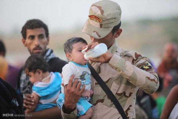 فرار مردم بی پناه عراق از دست داعش
