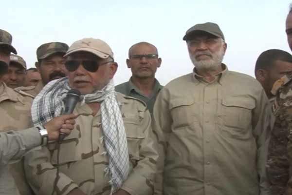 قيادي في الحشد الشعبي : وزير الخارجية الامريكي غير مرحب به ببغداد