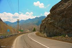 طبیعت جاده چالوس