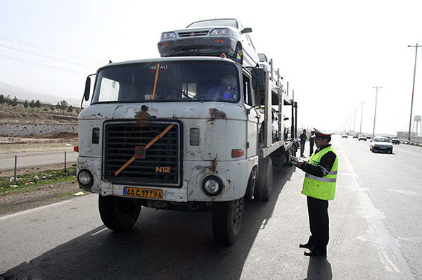 افزایش ۲ ساعته ممنوعیت تردد برای کامیونها در تاسوعا و عاشورا
