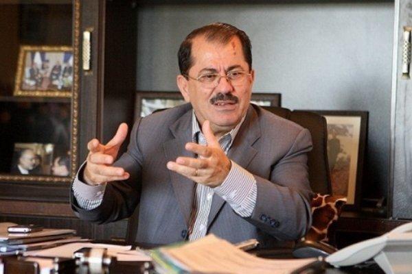 ممثل اقليم كردستان العراق في طهران ينفي نبأ وفاة مسعود بارزاني