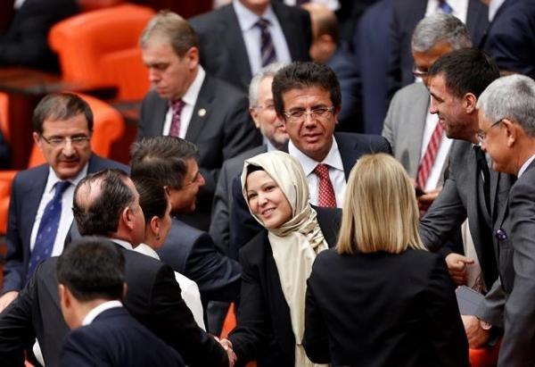 صعود نجم النساء في البرلمان التركي الجديد