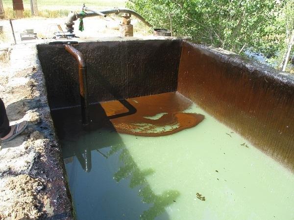 چاههای نفتی - لرستان
