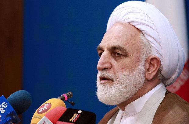 سخنگوی قوه قضاییه, محسنی اژه ای, بازداشت پسر وزیر اصلاحات
