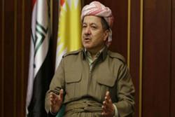 """مسعود بارزاني: لن نسمح بدخول قوات """"الحشد الشعبي"""" إلى أراضي كردستان"""