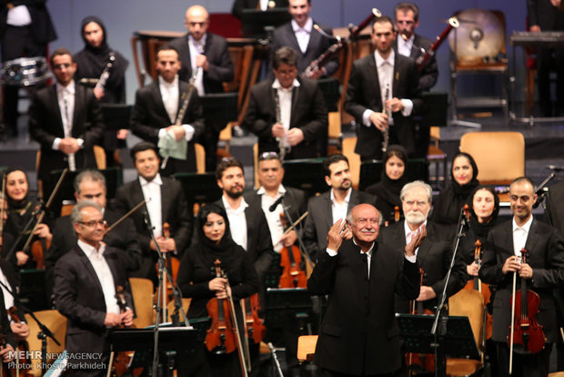 Iran's national music orchestra