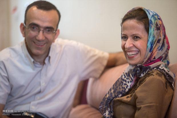 هادی پورفرضی و الناز مجدی زوج مبتلا به بیماری MS