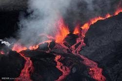 سن 2015 میں  آتشفشاں کے حوادث