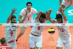 دیدار ایران و روسیه در لیگ جهانی والیبال