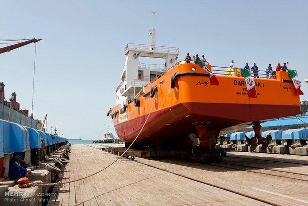 تدشين اول سفينة لجميع البقع النفطية الملوثة