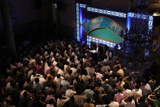 پخش زنده مناجات خوانی از مسجد ارک تهران
