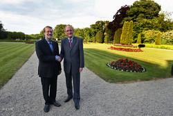 سفر علی لاریجانی رئیس مجلس به ایرلند