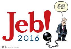 جب بش کا امریکی صدارتی انتخابات 2016 میں حصہ لینے کا فیصلہ