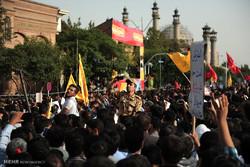 غواض شہیدوں کی تشییع جنازہ
