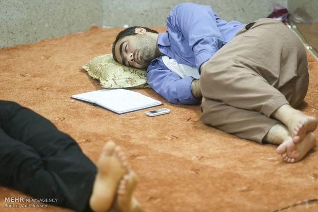 حال وهوای خوابگاههای دانشجویی در روزهای امتحان