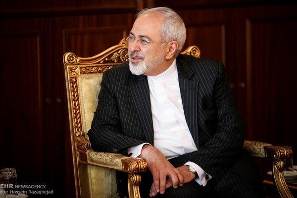 ظريف : الارهاب في المنطقة نشأ نتيجة سياسات امريكا والكيان الصهيوني