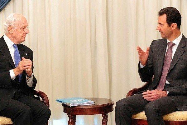الرئيس السوري يطالب العالم ان يعي خطر الارهاب على الامن والاستقرار