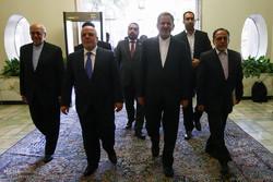 دیدار نخست وزیر عراق با دبیر شورای امنیت ملی