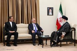 دیدار نخست وزیر عراق با  رهبر معظم انقلاب