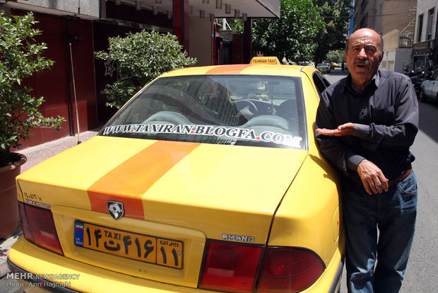 گفتگو با مهربان ترین راننده تاکسی