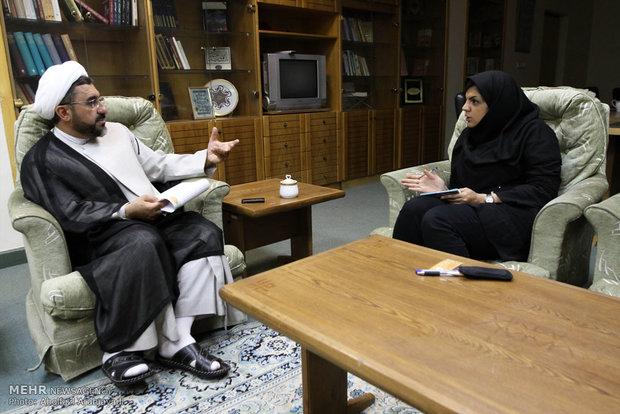 گفتگو با فخرالدین صابری مدیر  موزه ملی قران کریم