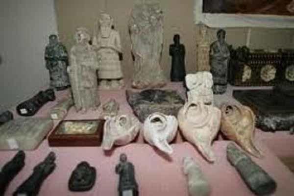 داعش قاچاق آثار باستانی