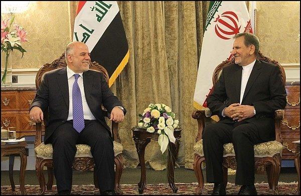 جهانغيري : ايران تدافع بقوة عن السلام والاستقرار في العراق