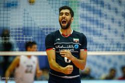 فوز المنتخب الوطني الايراني للكرة الطائرة على نظيره الامريكي