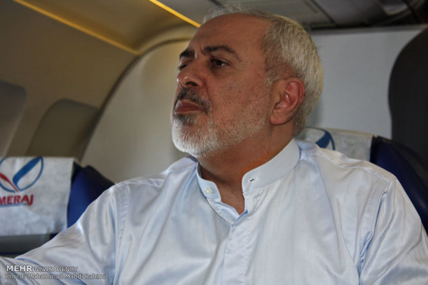 وزير الخارجية يعود الى طهران مساء اليوم الاحد