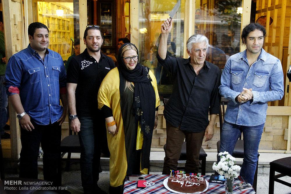 جشن تولد رضا کیانیان