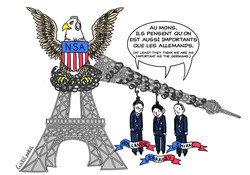 US spies on French presidents