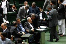 Impeachment session of Iran's education min.