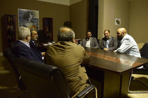 بازدید پورمحمدی، تخشید و میرحسینی از دردسرهای عظیم