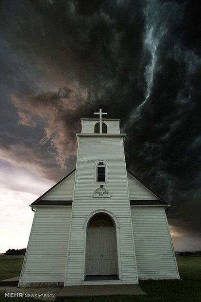 طوفان و گردباد در آمریکا