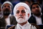 سخنرانی غلامحسین محسنی اژهای در جمع خانوادههای شهدای قضایی