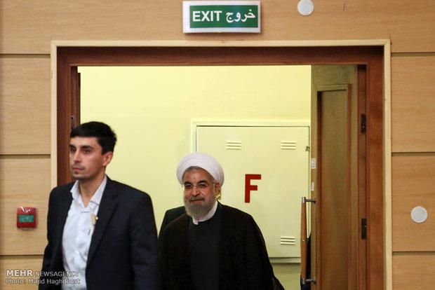 دیدار رئیس جمهور با روحانیون
