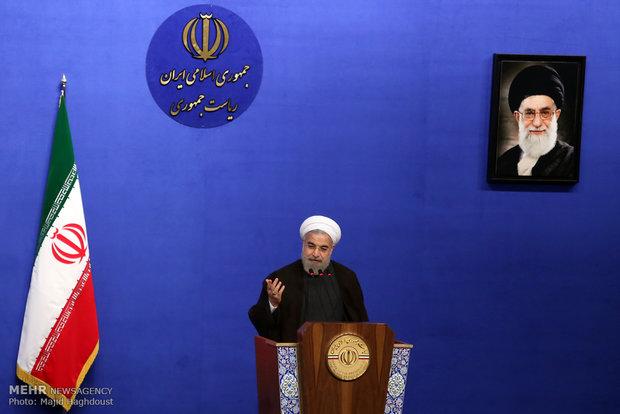 رئيس الجمهورية : توجيهات قائد الثورة الاسلامية دعم للحكومة