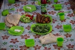 İran parklarındaki iftar sofraları