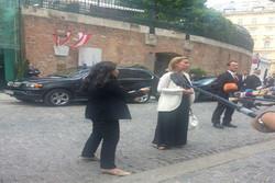 فلم/ ویانا کے ہوٹل گوبرگ میں موگرینی کا ورود
