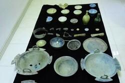 ۹۴۱ قلم اشیاء اصل و بدل تاریخی در استان گلستان کشف شد